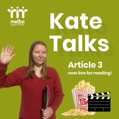 Kate Talks // 18 August 2020