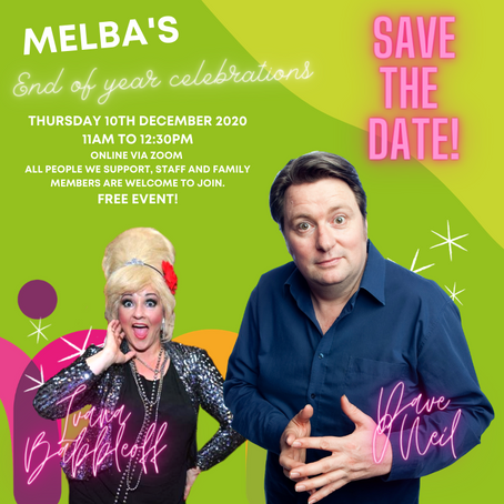 Melba's End Of Year Celebration Event 2020! 🎉💃🕺💻
