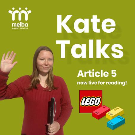 Kate Talks // 1 September 2020