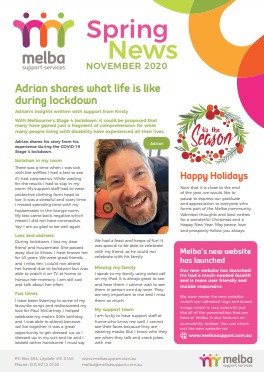 Melba Spring News is out now!