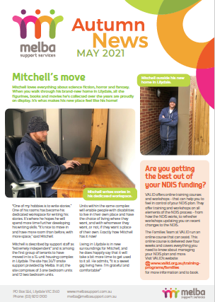 Melba Autumn News is out now!