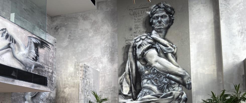 'Julius Caesar' Mural Project