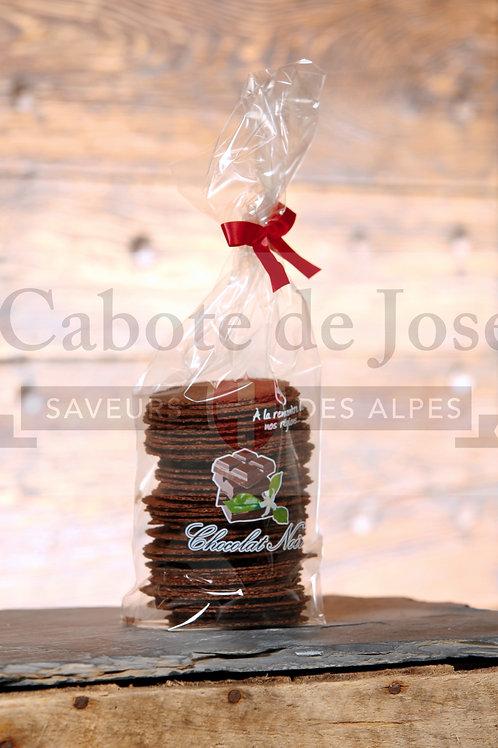 Bricelets au Chocolat noir