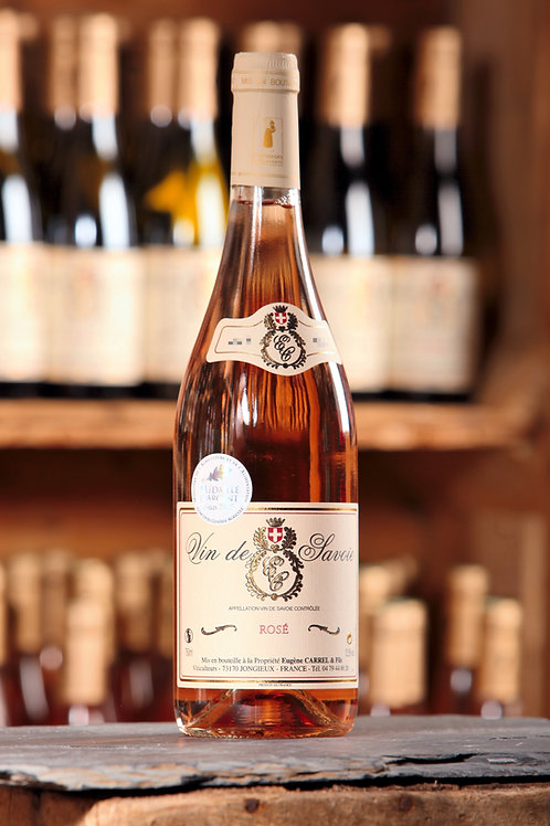 Rosé de Savoie Eugène Carrel 75cl