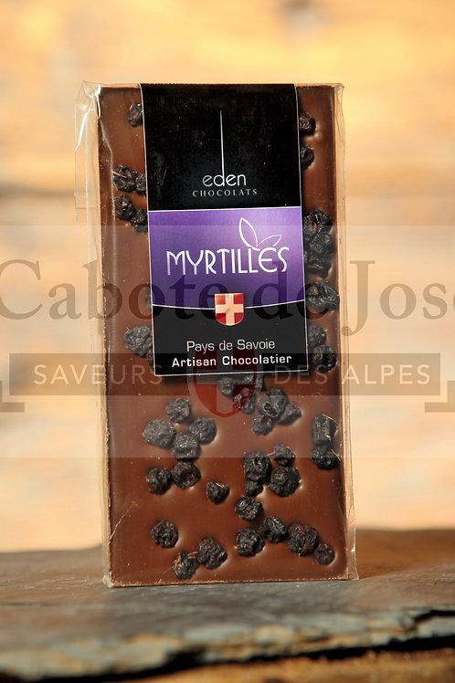 Chocolat Lait Myrtilles