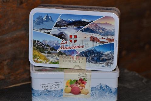 "Boite de biscuits assortis "" La Maurienne"""