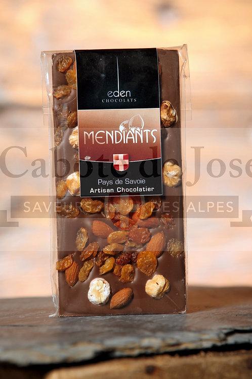 Chocolat Lait Mendiant