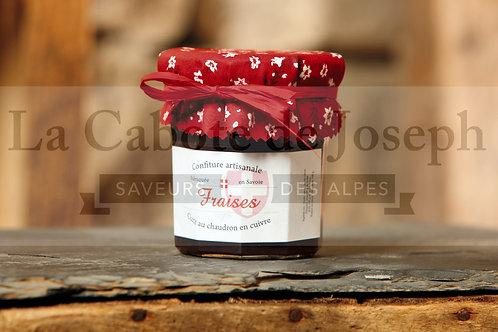 Confiture artisanale de fraises (375gr)