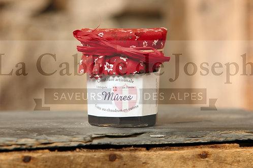 Confiture artisanale de mûres (230 gr)