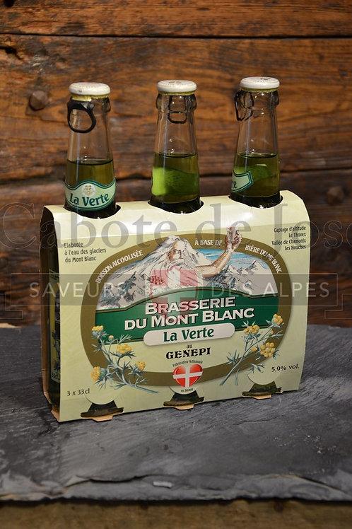 Tripack de bière du Mont Blanc saveur génépi