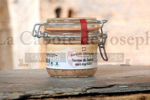 Verrine de Savoie aux myrtilles ( Bocaux )