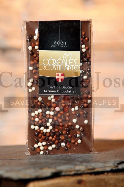Chocolat Lait Céréales Croustillantes