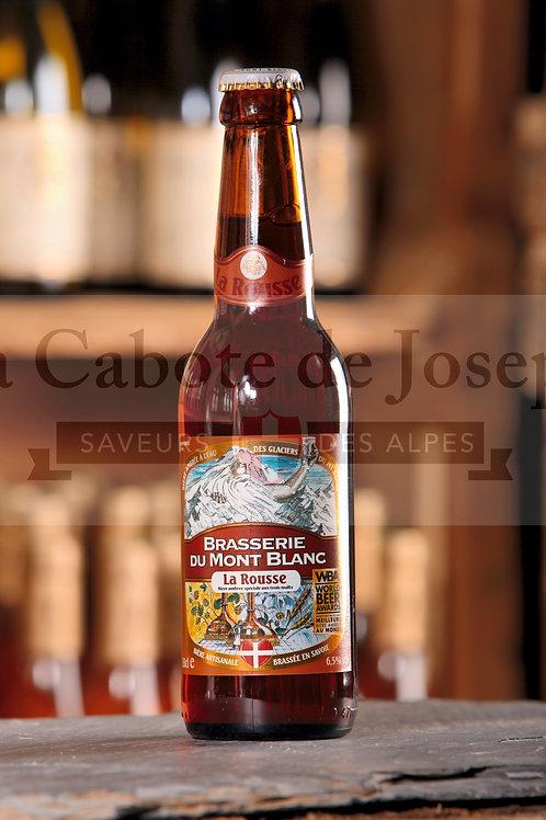 """Brasserie du Mont Blanc """"La rousse"""" 33cl"""