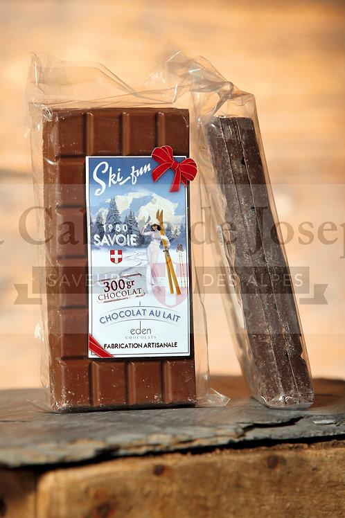 Tablettes Chocolat au lait (300 gr)