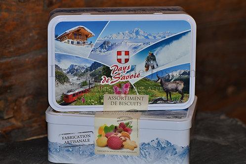 "boite de biscuits assortis ""Pays de Savoie"""