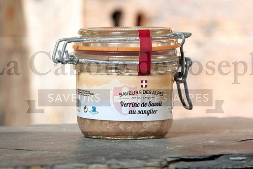 Verrine de Savoie au sanglier ( Bocaux )