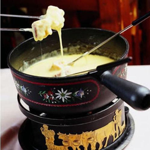 Fondue 4 fromages pour 4 personnes