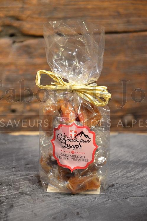 Sachet de caramels au beurre des Alpes