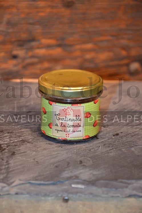 Tartinable à la tomate oignons et ail des ours