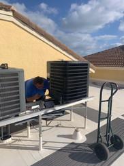 Installing a Rooftop HVAC Unit