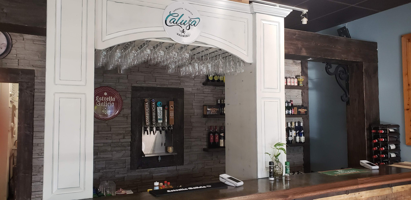 One of the Bar's at Chef Mike's Venue