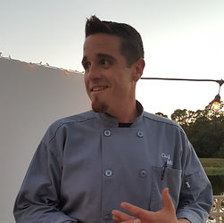Headshot of Chef Mike Donnerstag in Chef's uniform