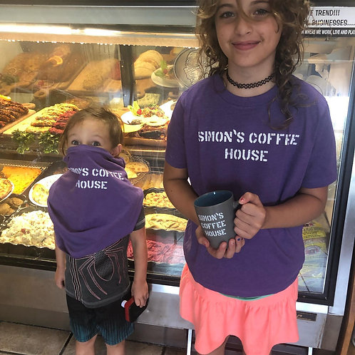 Simon's Coffee House Kid's T-Shirt
