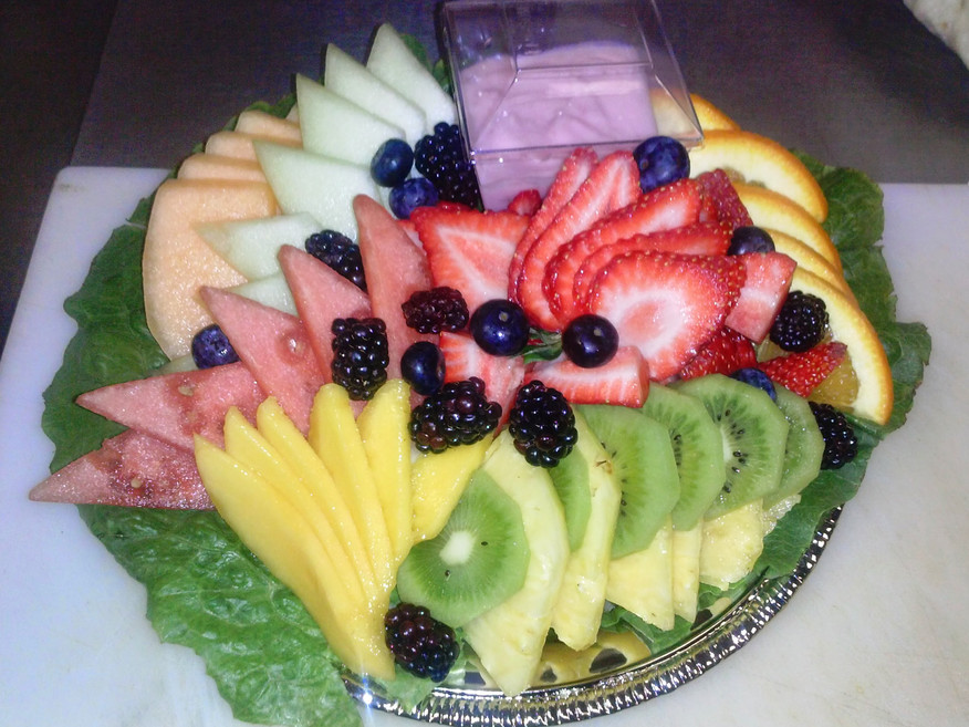 A personal fruit salad to go.