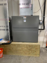 Properly Installed Unit in Commercial Warehouse