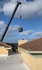 Lifting Unit to Rooftop