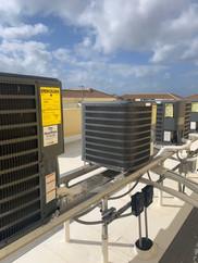 Mulitple Rooftop Units Properly Organized