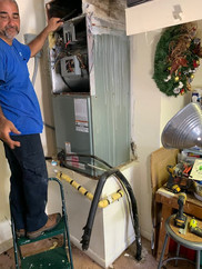 Danny Beginning the Process of Replacing a Unit