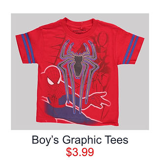 Spiderman $3.99 boys t-shirt