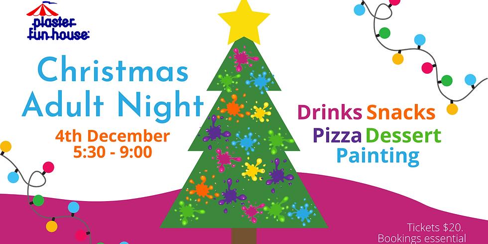 December Adult Plaster Painting Night
