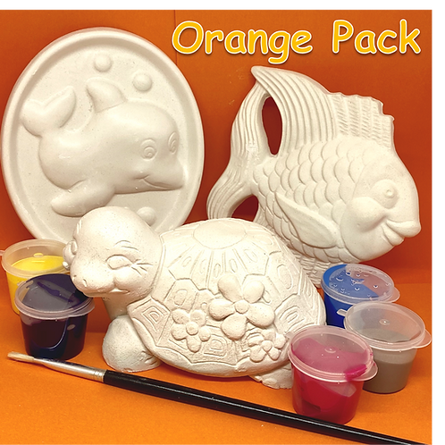 Orange Isolation Pack
