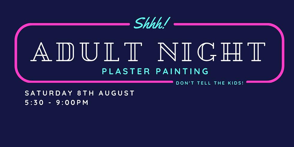 Adult Plaster Painting Night - August 2020
