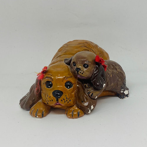 Dog with a Puppy