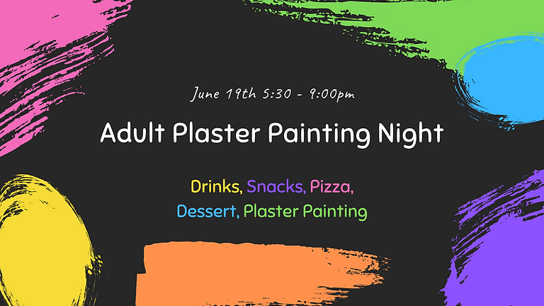 June Adult Plaster Painting Night