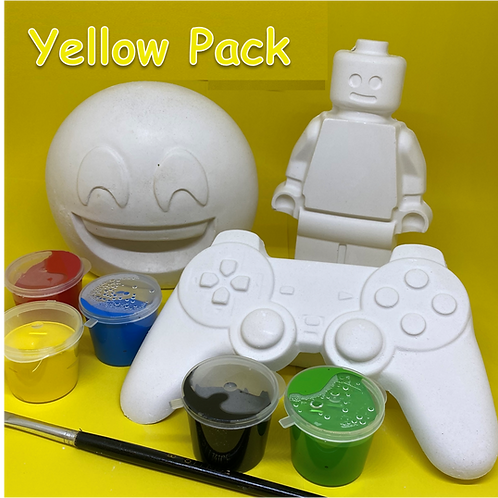 Yellow Isolation Pack