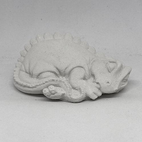 Small Laying Down Dragon