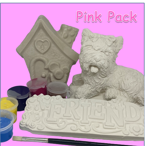 Pink Isolation Pack