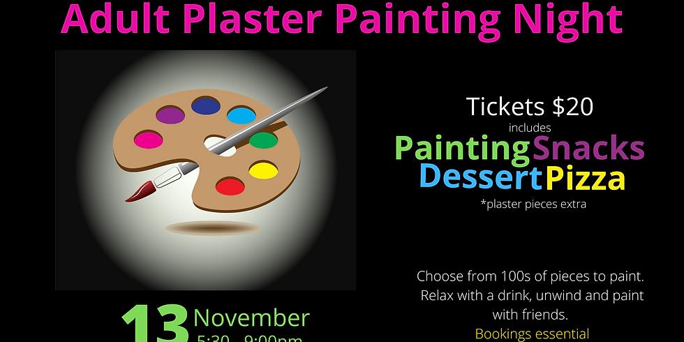 November Adult Plaster Painting Night