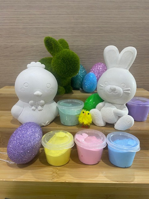 Easter Pack I - Funny Bunny & Chick