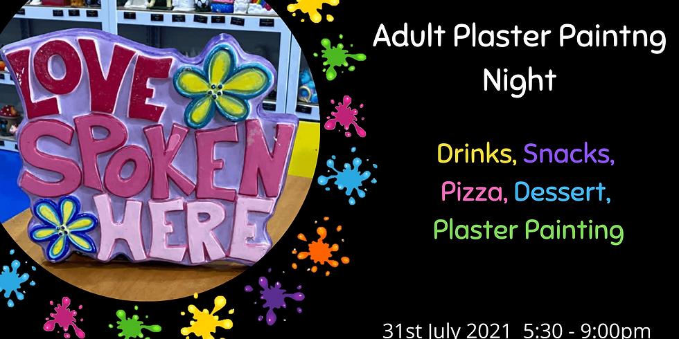 July Adult Plaster Painting Night