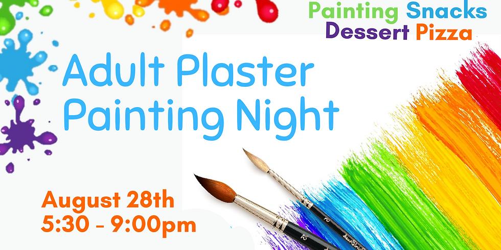 August Adult Plaster Painting Night