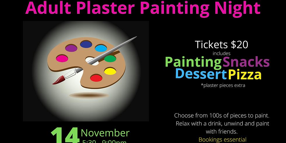 Adult Plaster Painting Night - November 2020
