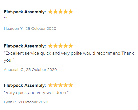 22. reviews by task rabbit