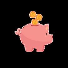 Piggy bank save your money