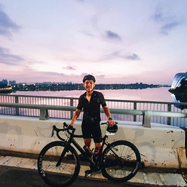 OCBC Cycle 2019_Two of our riders, Clare
