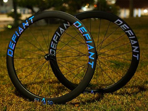 DEFIANT Carbon Fixed Gear Wheels